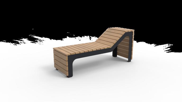 Zwarte BLOCKS ligbed van Inter Design